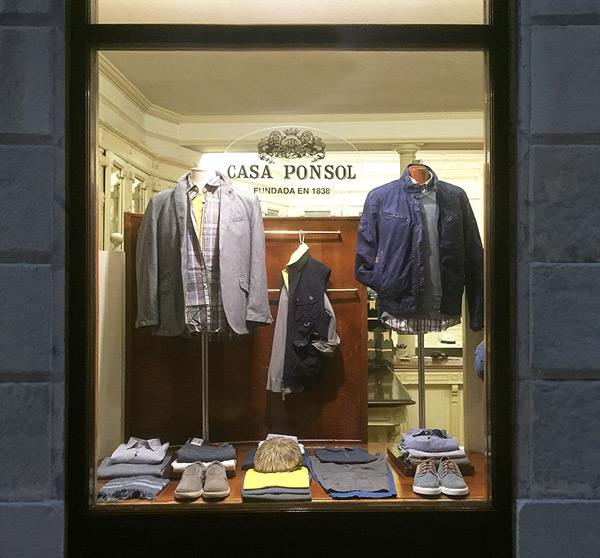 fashion man casa ponsol san sebastian shirts trousers jackets