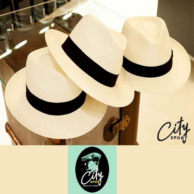 Classic white panama hats Brands City Sport