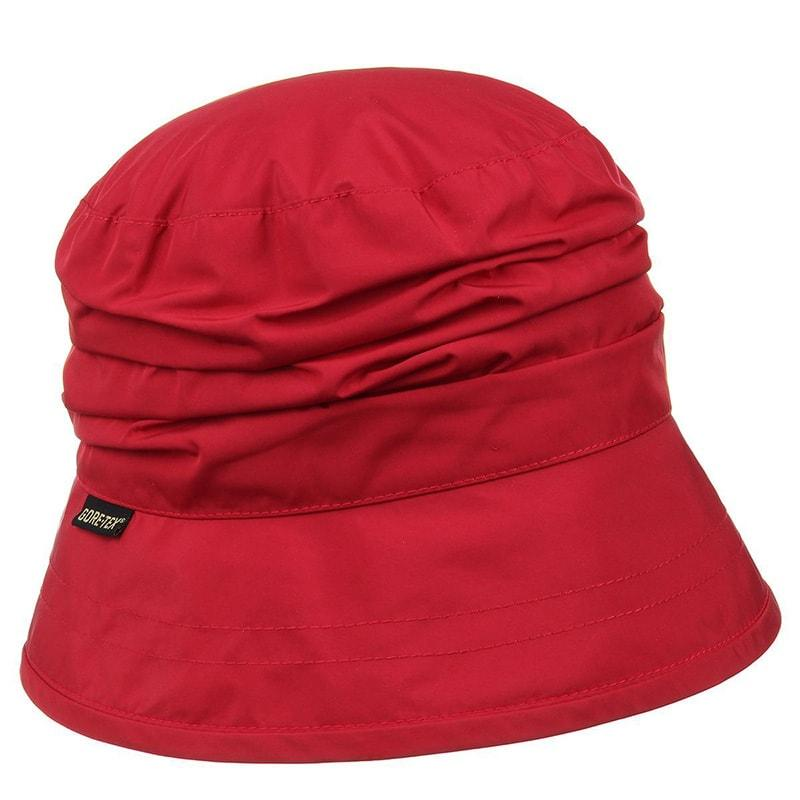 Gorro mujer impermeable rojo gore tex  Seeberger