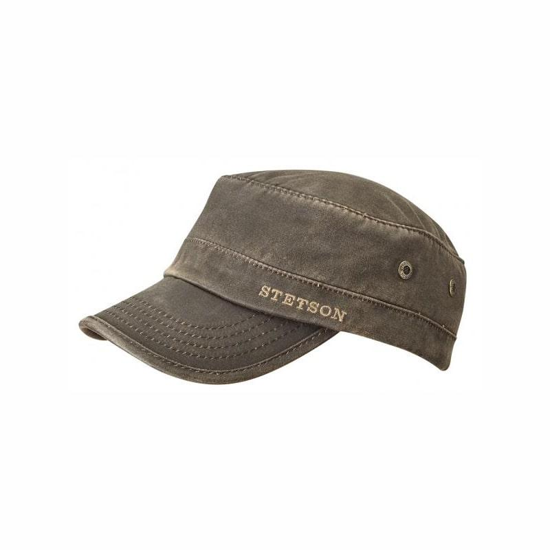 Stetson brown military cap Brands Stetson