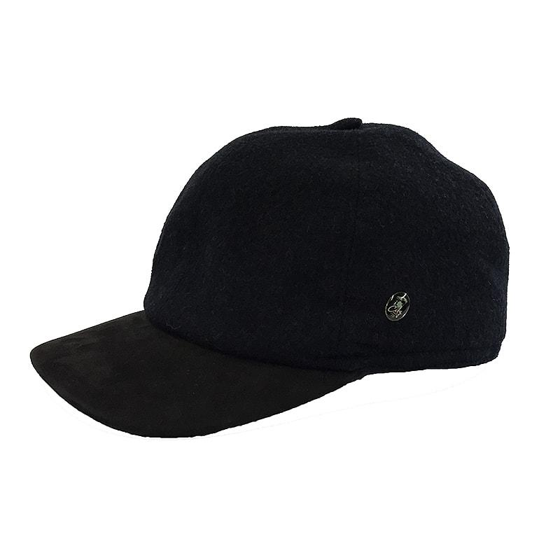 Black cap with earflaps Brands City Sport