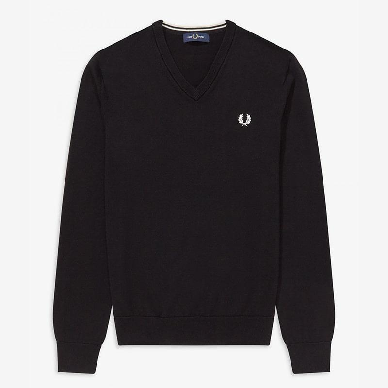 Jersey Fred Perry negro Fred Perry