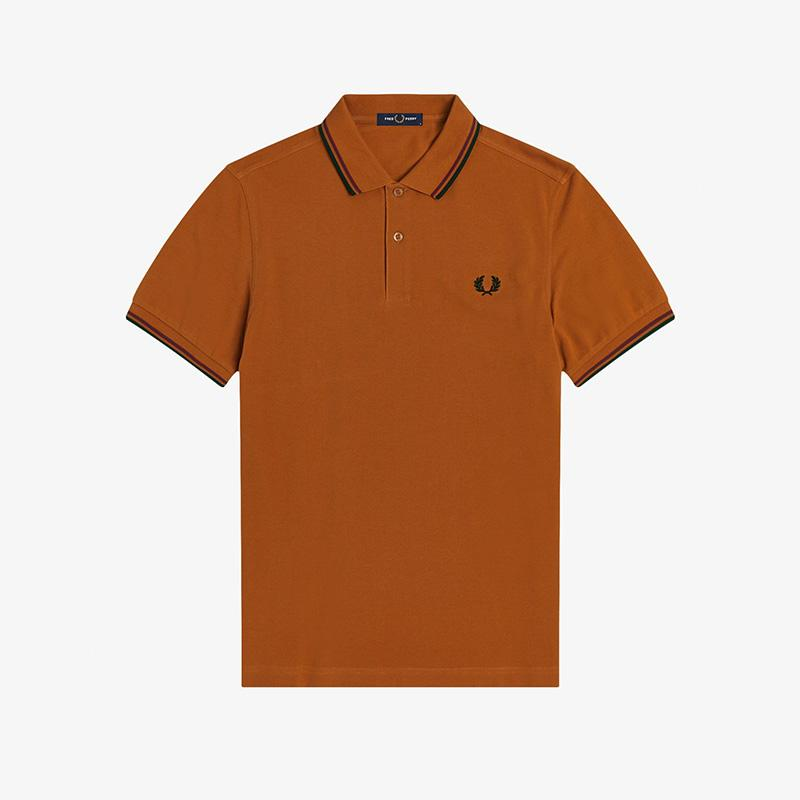 Polo Fred Perry naranja Fred Perry