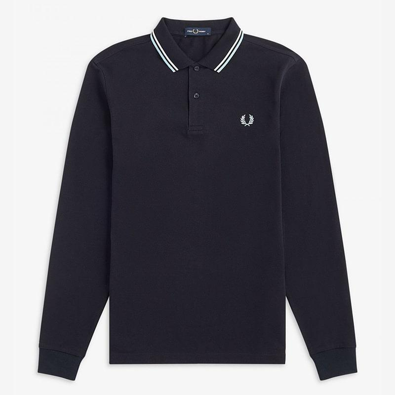 Polo Fred Perry negro  Fred Perry