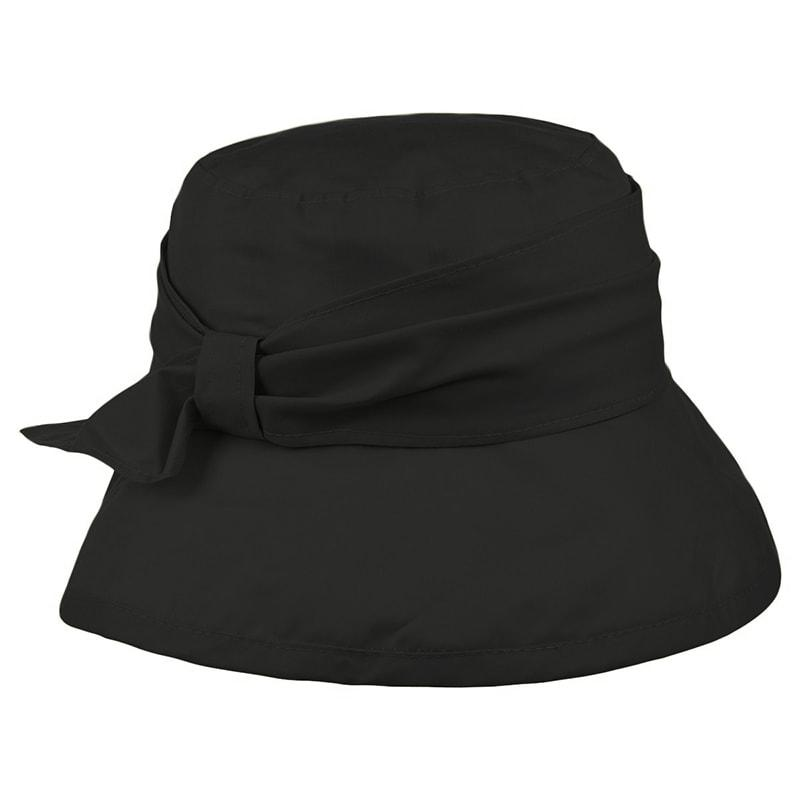 Gorro mujer impermeable negro