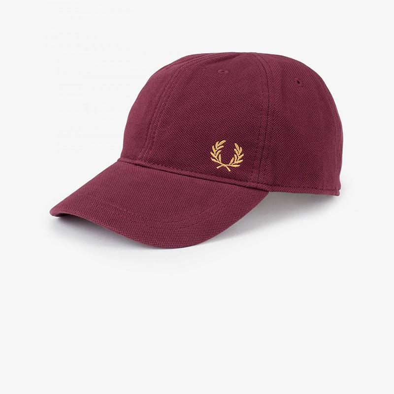 Gorra Fred Perry baseball granate Fred Perry