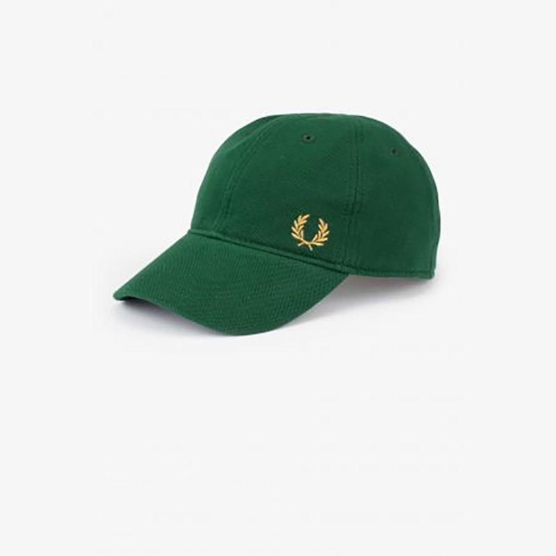 Gorra Fred Perry baseball verde Fred Perry