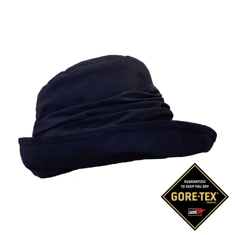 Gorro mujer impermeable azul gore tex  Seeberger