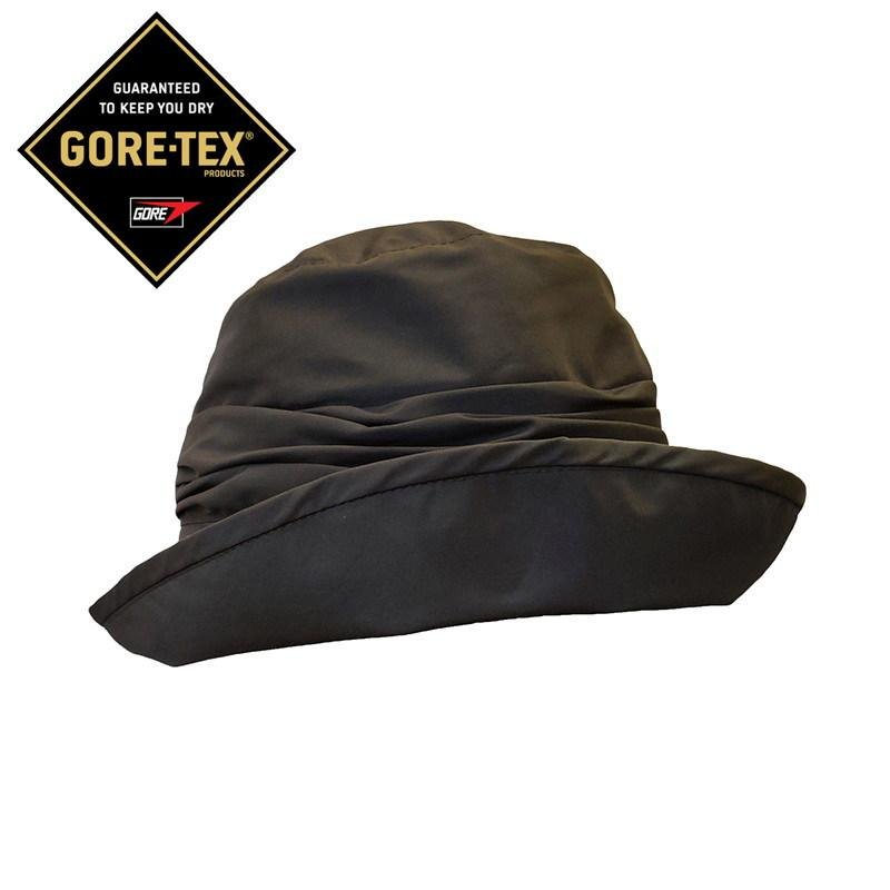 Gorro mujer impermeable gris gore tex  Seeberger